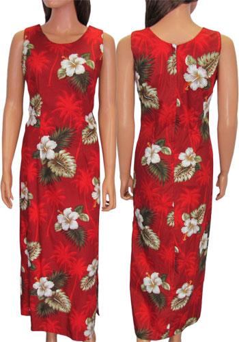 28f1ebce949a Long Maxi Tank Straps Ka Pua Dress: Shaka Time Hawaii Clothing Store
