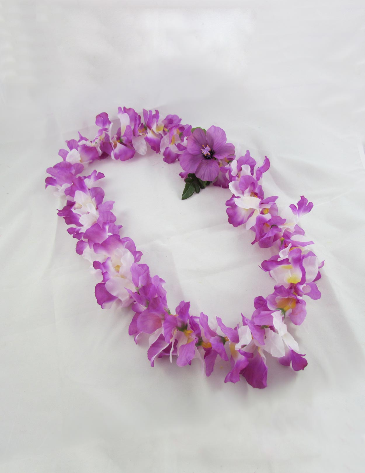 Orchids Flowers Hawaiian Lei Lavender Shaka Time Hawaii Clothing Store
