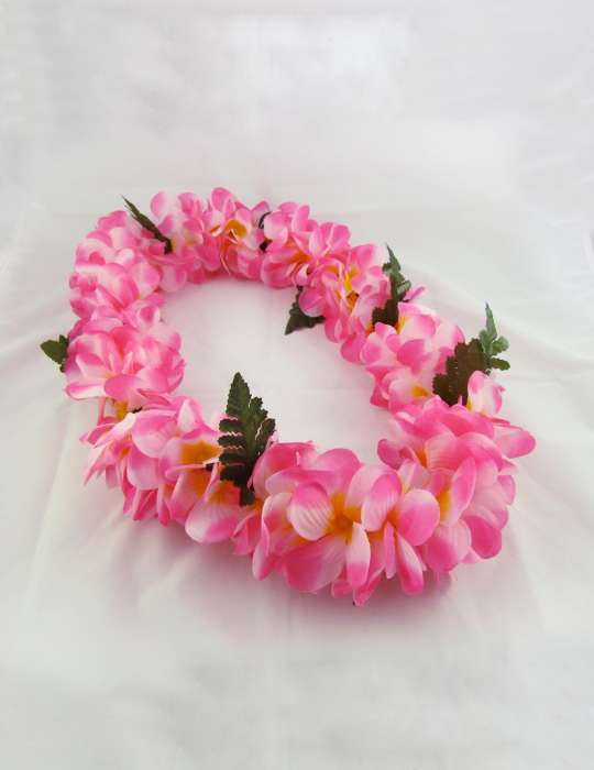 Pink plumerias silk hawaii flower leis shaka time hawaii clothing store pink plumerias silk hawaii flower leis mightylinksfo