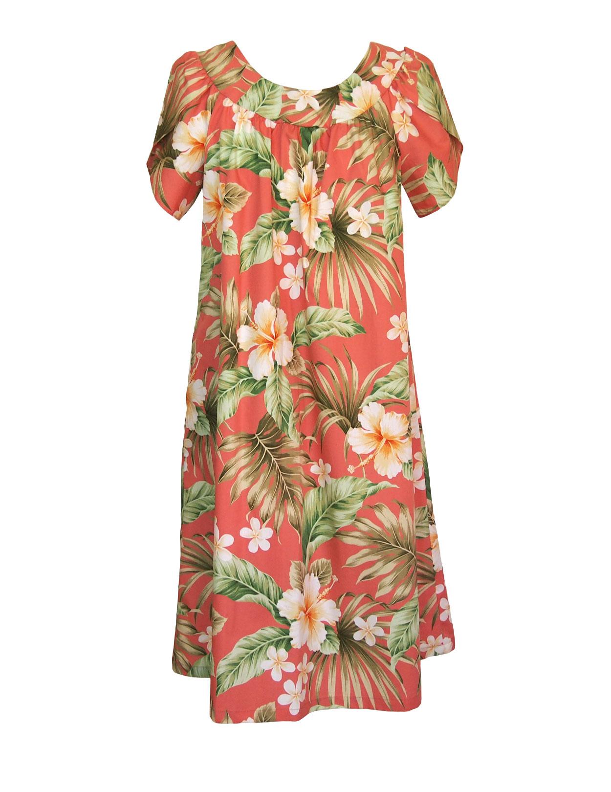 Pull over muumuu flower hibiscus design dress shaka time hawaii pull over muumuu flower hibiscus design dress shaka time hawaii clothing store izmirmasajfo