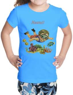 6b99f7171db5 ... Here Comes Trouble Baby Girl. $15.95 · Kids T-Shirt Baby Boy Diver Sea  Life Reef