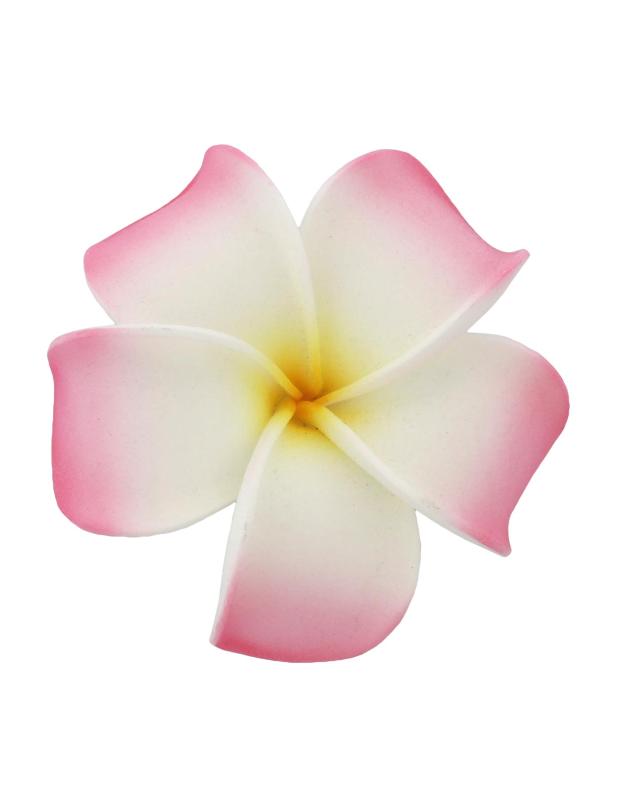 Large white pink hawaiian plumeria flower hair clip shaka time large white pink hawaiian plumeria flower hair clip shaka time hawaii clothing store izmirmasajfo Choice Image