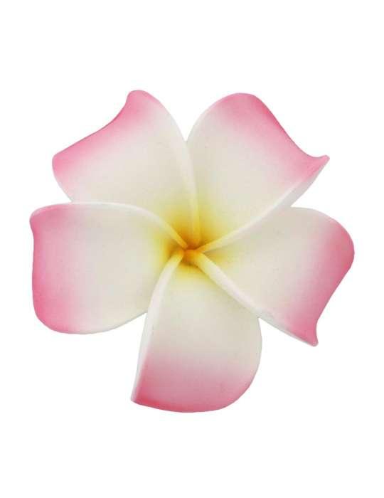 Large hawaiian plumeria white pink flower hair clip shaka time large hawaiian plumeria white pink flower hair clip mightylinksfo