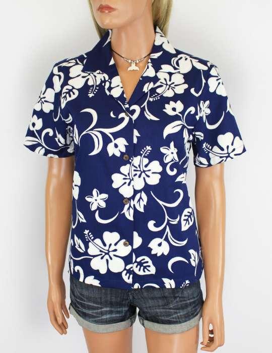 937315f4f13 Women Camp Hawaiian Shirt Hibiscus Kaneohe  Shaka Time Hawaii Clothing Store