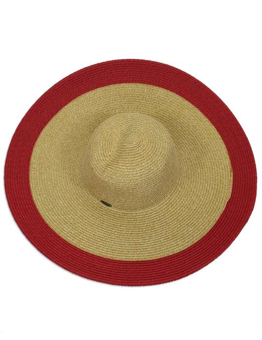 Lady in Red - Floppy Sun Block Women Hat  Shaka Time Hawaii Clothing Store 7e313fd4ec2