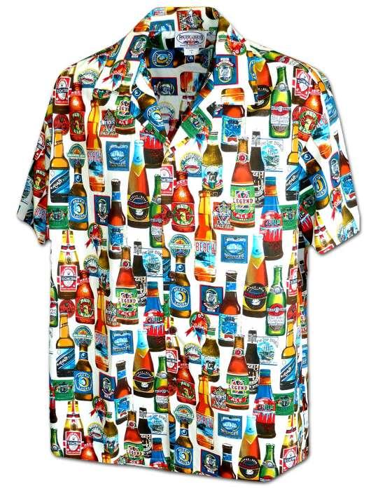 adc30b0b Parrot Bartender Aloha Shirt: Shaka Time Hawaii Clothing Store