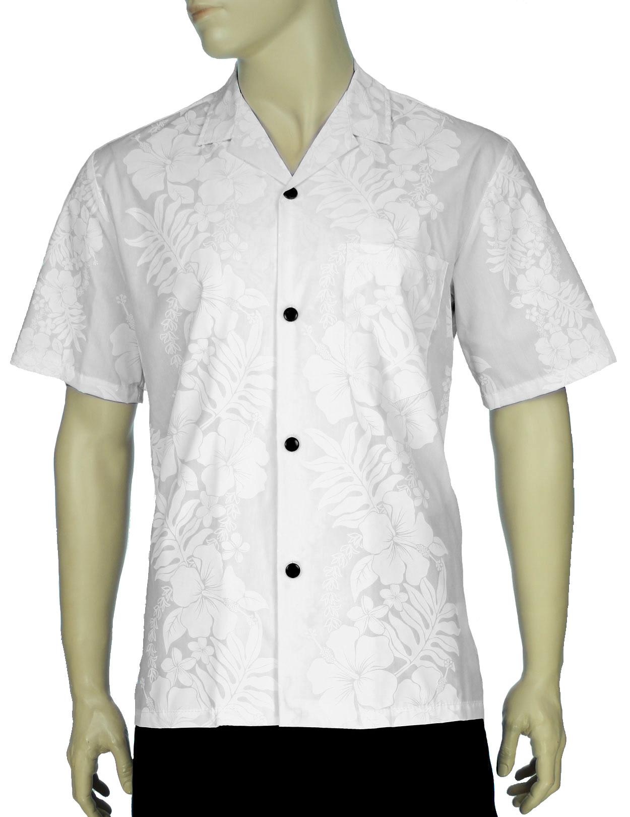 White Wedding Aloha Shirt Hokeo Shaka Time Hawaii Clothing Store