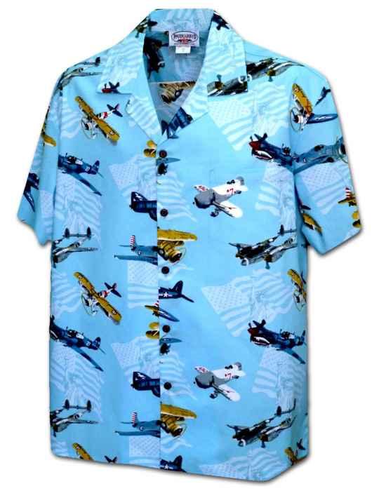 Air Hunters Aloha Airplanes Shirt Shaka Time Hawaii Clothing Store