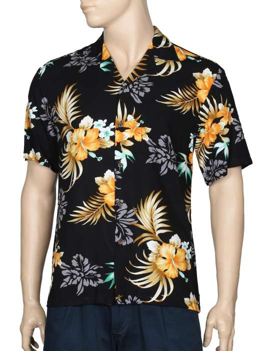 18a17910 Birds of Paradise Hawaii Rayon Shirt: Shaka Time Hawaii Clothing Store