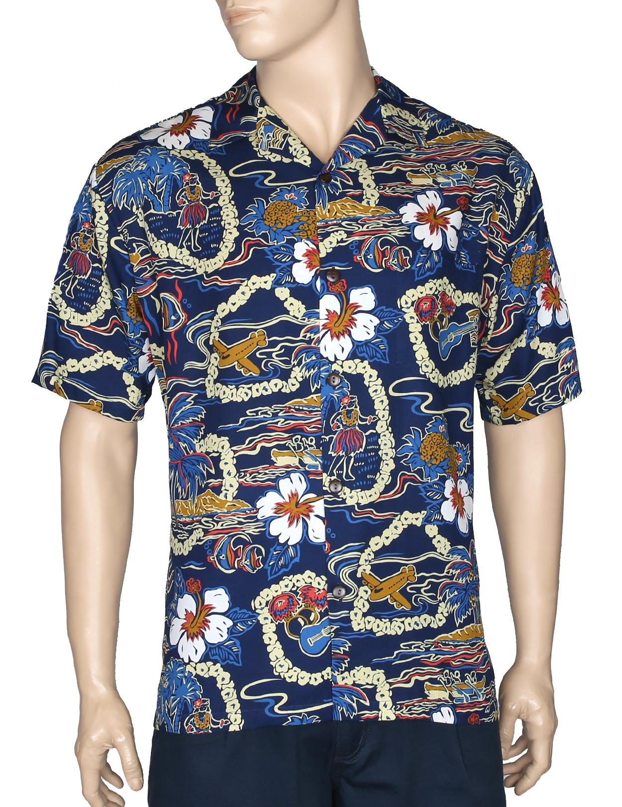 3b0bd7e5 Plus Size Hawaiian Shirts and Clothing - Shaka Time Hawaii