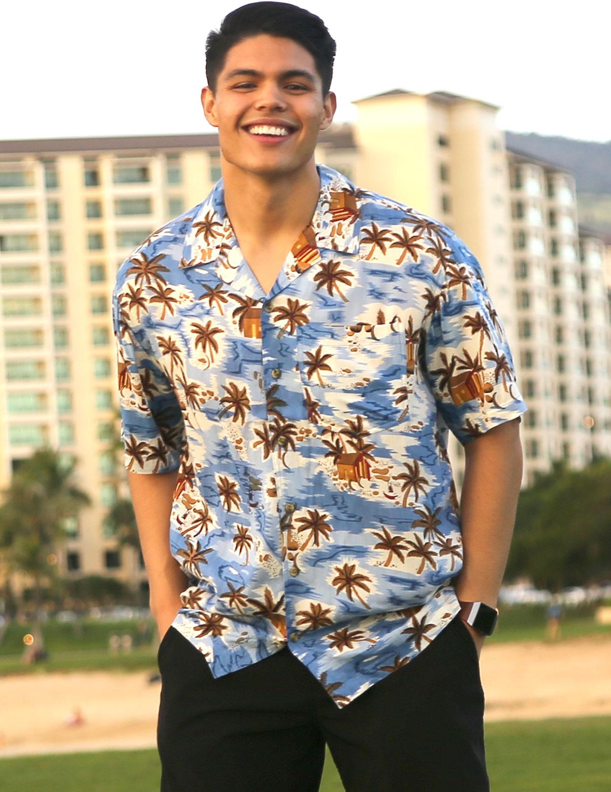cheap hawaiian shirts - shaka time hawaii clothing sale!