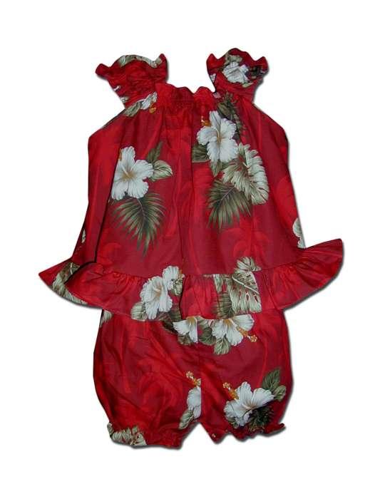 18bb115cf464 Baby Clothes Capri Set Tropical Ka Pua: Shaka Time Hawaii Clothing Store