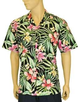 Garden Lily Aloha Hawaiian Shirt