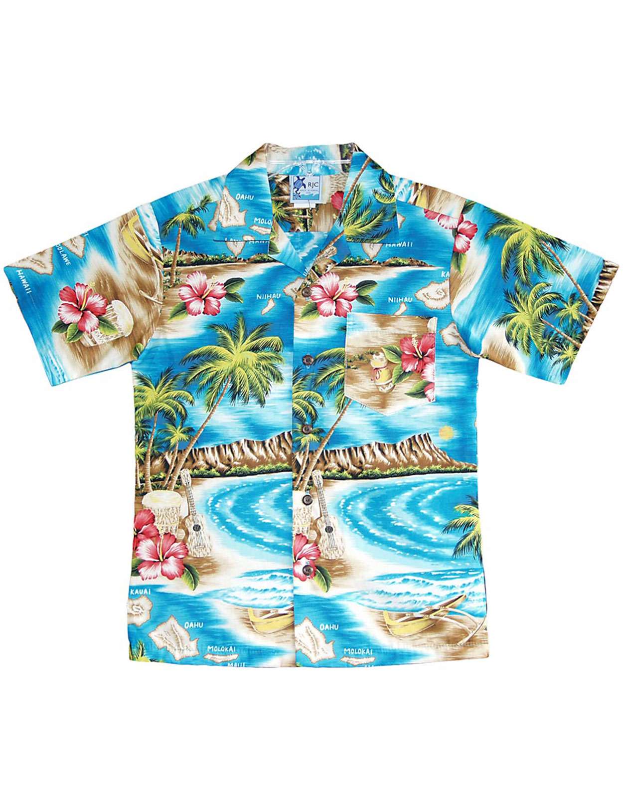 Turquoise Dress Shirt For Men