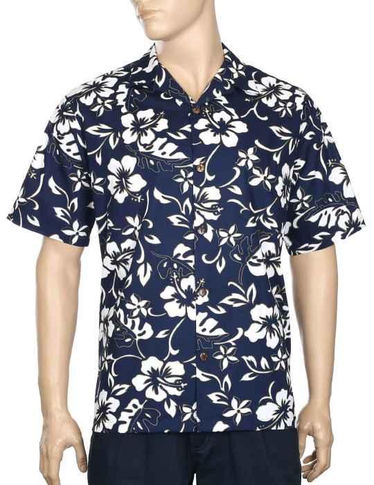 9470b7b26ced2 Classic Hibiscus Pareo Aloha Shirt  Shaka Time Hawaii Clothing Store