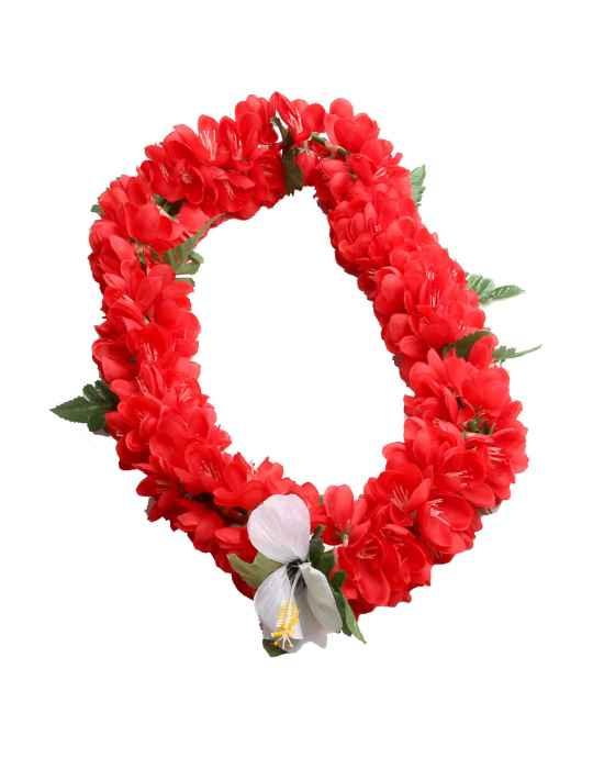 Red shell ginger silk flower lei shaka time hawaii clothing store red shell ginger silk flower lei mightylinksfo