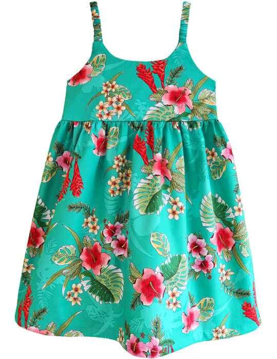e6adac8788 Liliana Hawaiian Sundress Elastic Straps: Shaka Time Hawaii Clothing Store