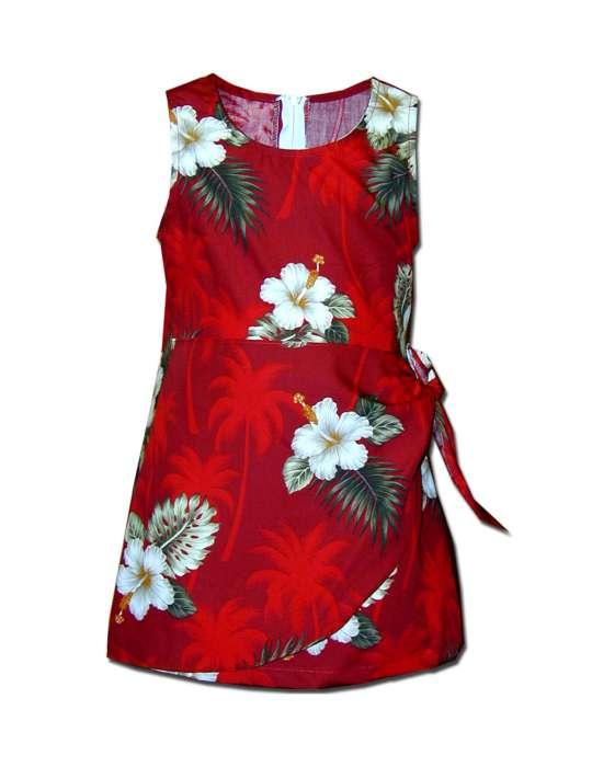 e500361b9a9 Girls Aloha Sarong Dress Ka Pua