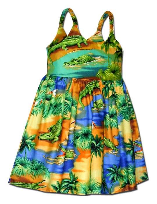 Island Girls Hawaiian Dress - Tandy Dandy: Shaka Time Hawaii ...