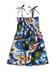 Girls Hawaiian Dresses - Shaka Time Hawaii