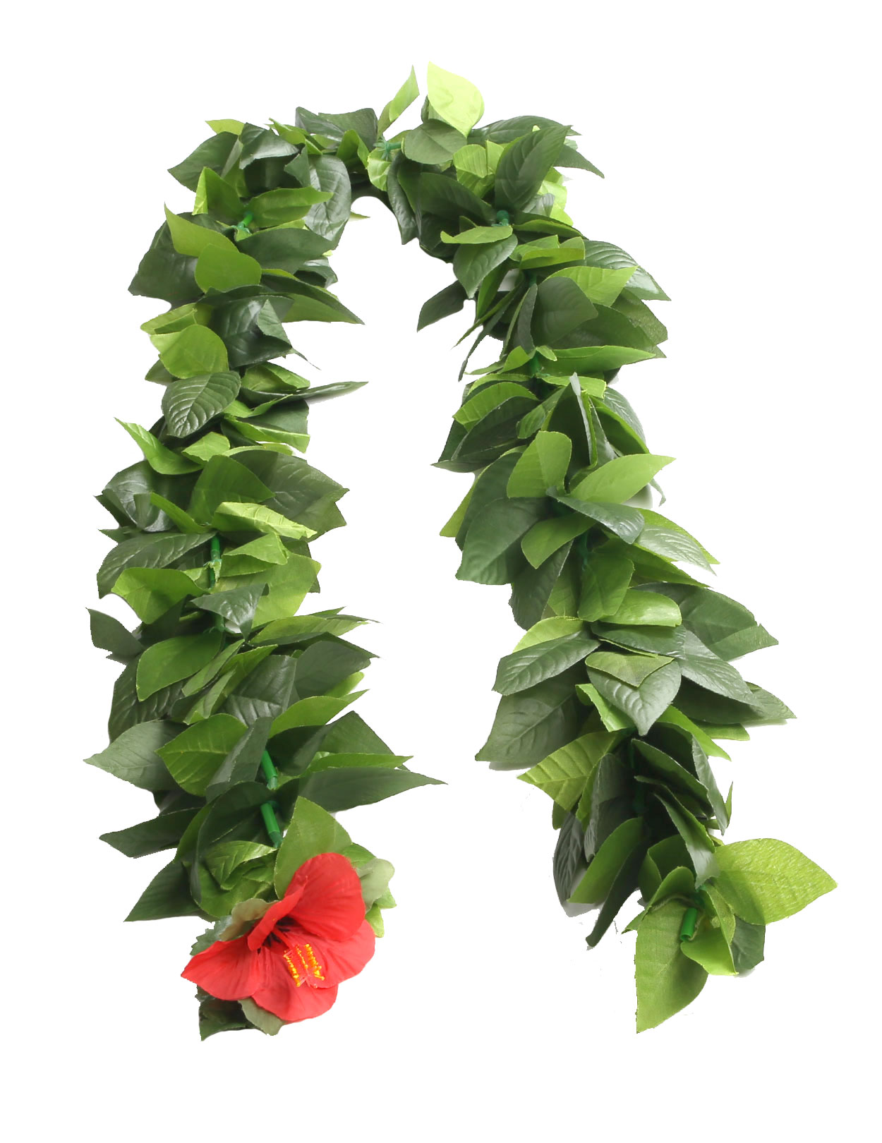 Wedding Deluxe Silk Maile Lei Open Ended 60 Inch Shaka Time Hawaii