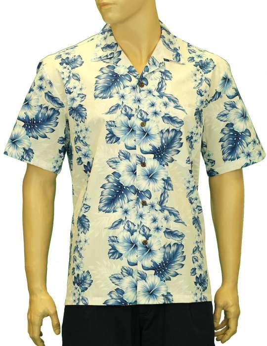 f301a0859f8 Cotton Hawaii Aloha Shirt Pacific Panel  Shaka Time Hawaii Clothing Store