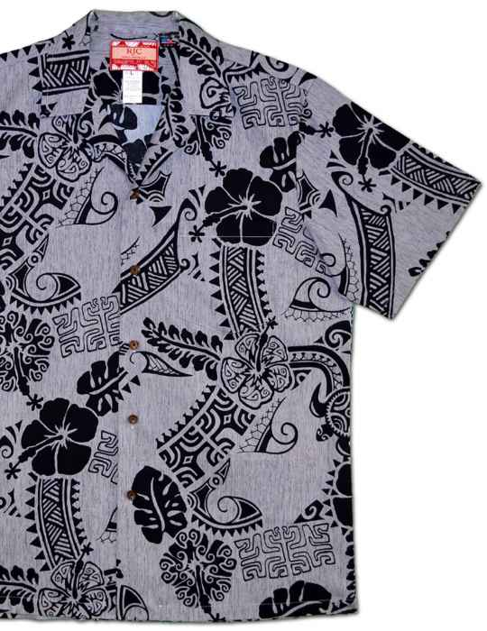 d0cd4f45 Aloha Tribal Island Shirt: Shaka Time Hawaii Clothing Store