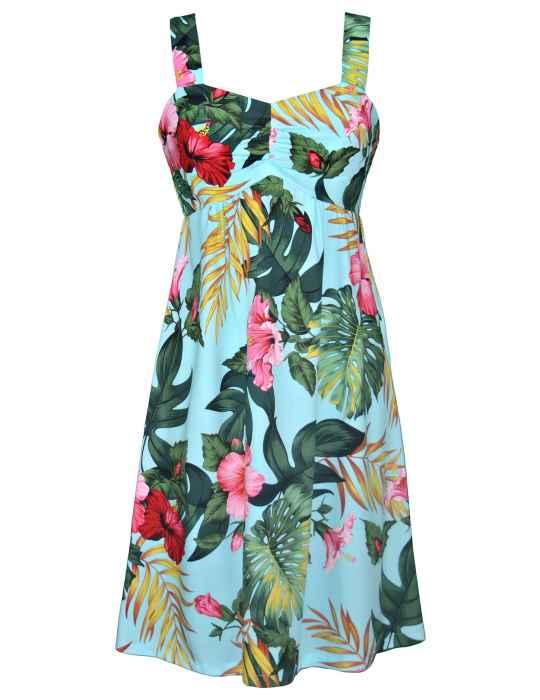56ffdfddf22 Moana Tropical Hawaiian Sundress  Shaka Time Hawaii Clothing Store