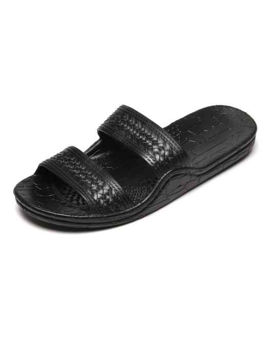 a29c50504b56 Jesus Sandals - Wide Comfort Fit Black Classic Jandals  Shaka Time Hawaii  Clothing Store