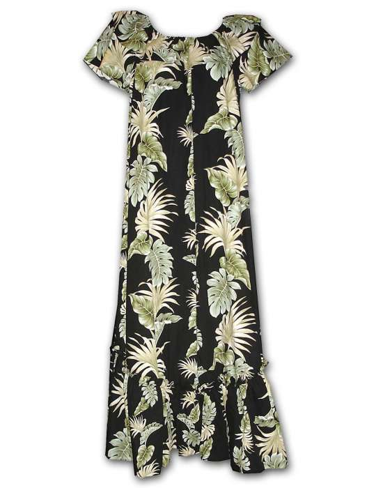a38095113f Lei of Aloha Long Muumuu Hawaiian Dress: Shaka Time Hawaii Clothing Store