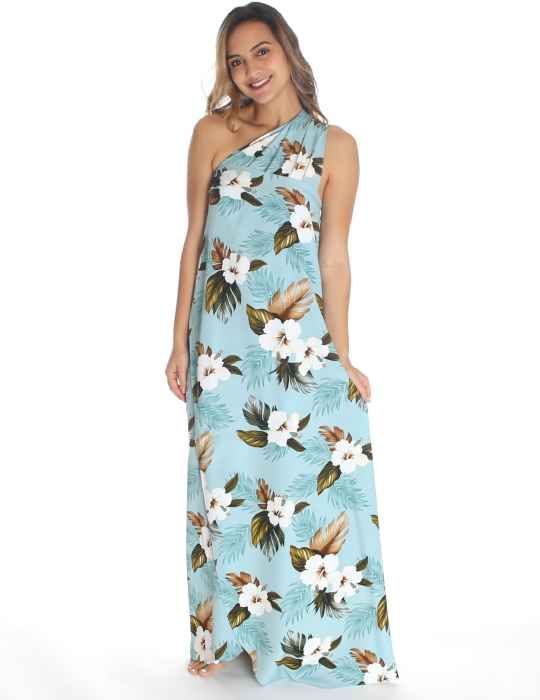 4fd63ae479 Hibiscus Jungle Large Sarong Cover-up: Shaka Time Hawaii Clothing Store