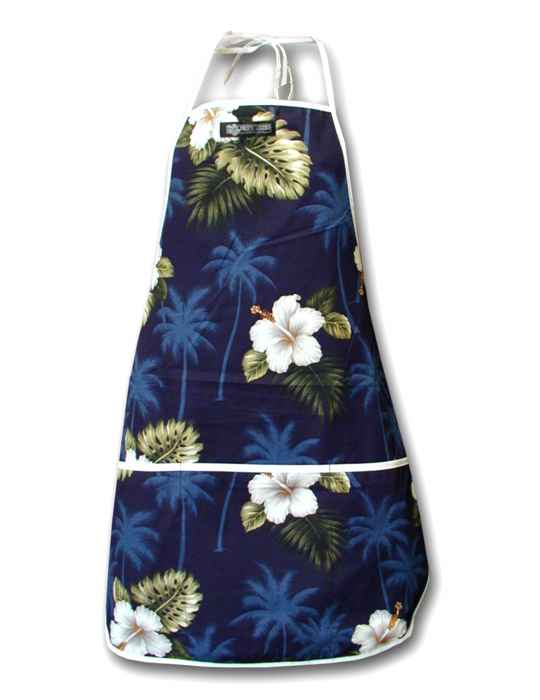 bb10eb6398f5 Ka Pua Aloha Floral Apron: Shaka Time Hawaii Clothing Store