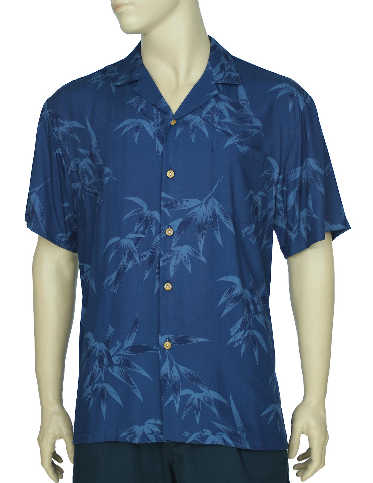 Bamboo Hawaii Aloha Rayon Shirt Shaka Time Hawaii
