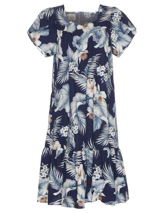 51cc9b44689 Short Muumuu Dress Kekoa  Shaka Time Hawaii Clothing Store