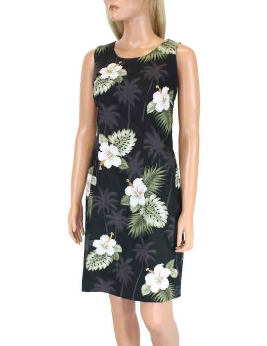 1f214d916aaf Short Sleeveless Tank Hawaii Dress Ka Pua: Shaka Time Hawaii Clothing Store
