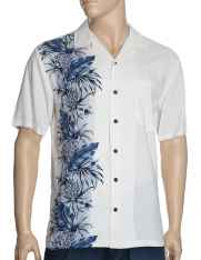 52c5dc55 Hawaii Wedding Shirt Pineapple Time Aloha Side Design