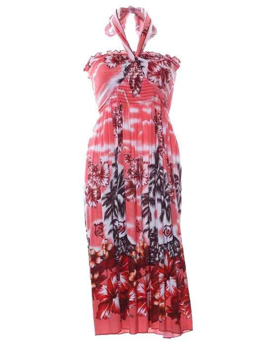 c03eadffc696 Smock Top Hawaiian Dress Island Breeze: Shaka Time Hawaii Clothing Store