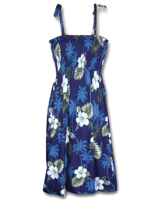 227658570f5 Smock Tube Top Midi Dress Ka Pua
