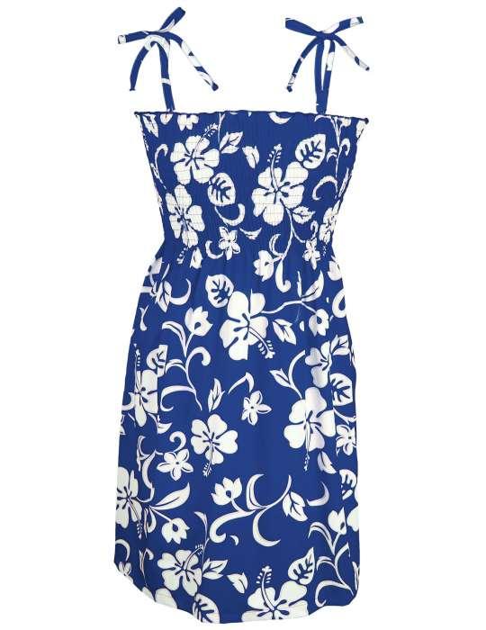 df2e7f47be6 Smocked Top Hawaiian Dress Kaneohe  Shaka Time Hawaii Clothing Store
