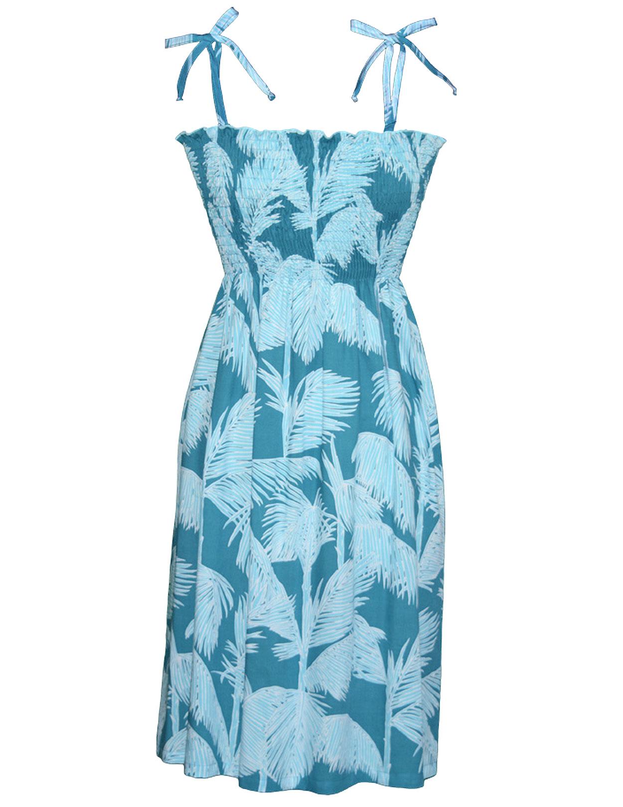 26bf38eb0474 Smock Top Short Rayon Dress Bahamas: Shaka Time Hawaii Clothing Store