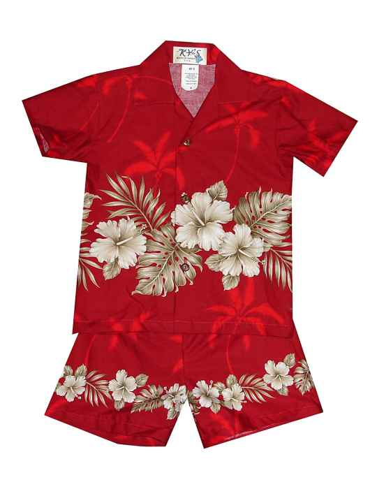 2aafac114d Boys Toddler Hawaiian Shirt Set Ohua  Shaka Time Hawaii Clothing Store