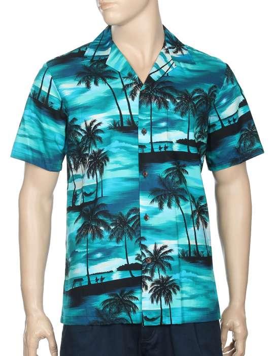 273e5c2b9 Island Sunset Paradise Hawaii Aloha Shirt: Shaka Time Hawaii Clothing Store