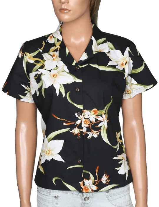 Women S Hawaiian Blouse Puanani Shaka Time Hawaii Clothing Store