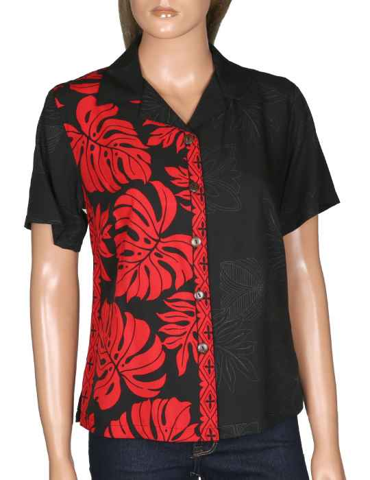 10454c3f Women's Camp Hawaiian Shirt Prince Kuhio: Shaka Time Hawaii Clothing Store