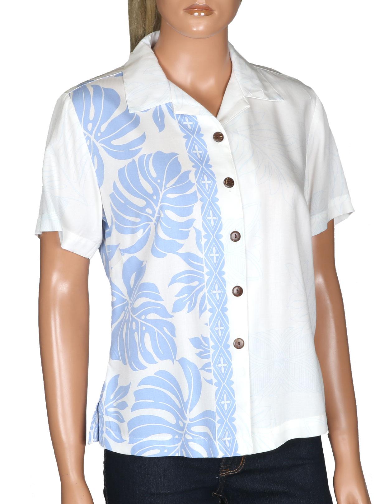632a38ae947e1a Womens Hawaiian Shirts - Tops and Blouses - Shaka Time Hawaii