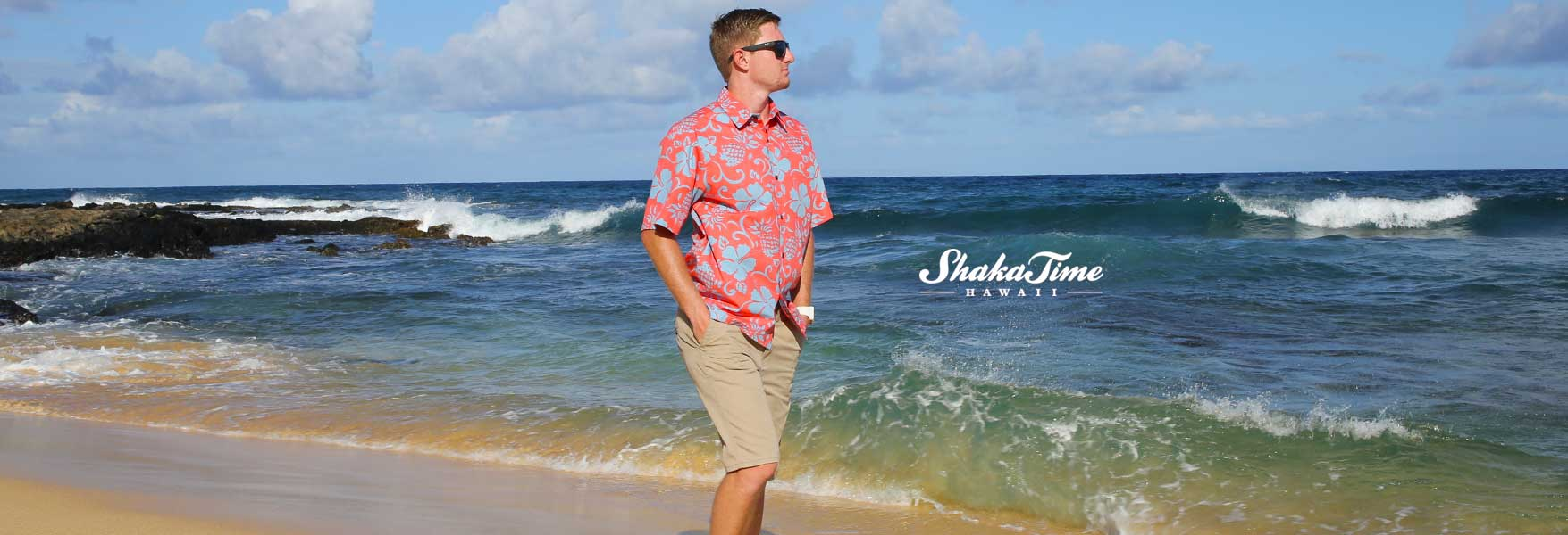Hawaiian Dress Shirt Button Up
