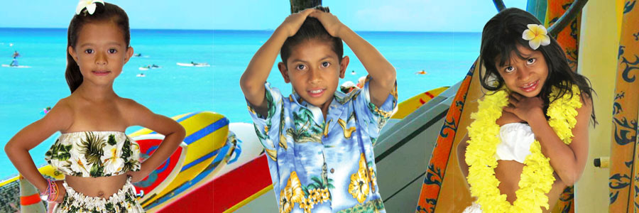 Children Hawaiian Clothes and Aloha Wear
