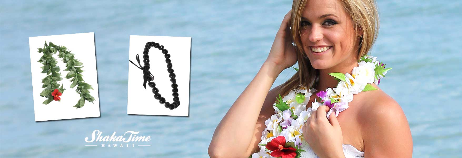 Hawaiian Leis Flower and Kukui