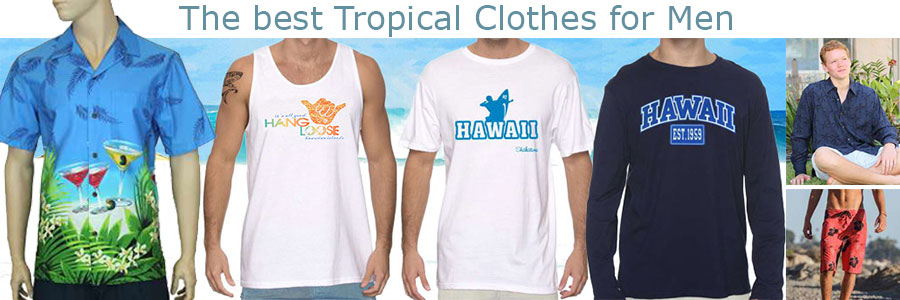 Shop for Men's Hawaiian Clothes & Aloha Wear made in Hawaii