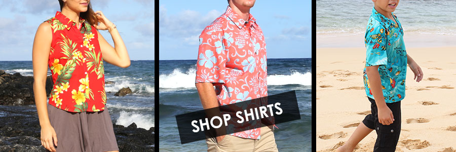 Hawaiian shirts for men, women and kids with awesome design for comfort and style
